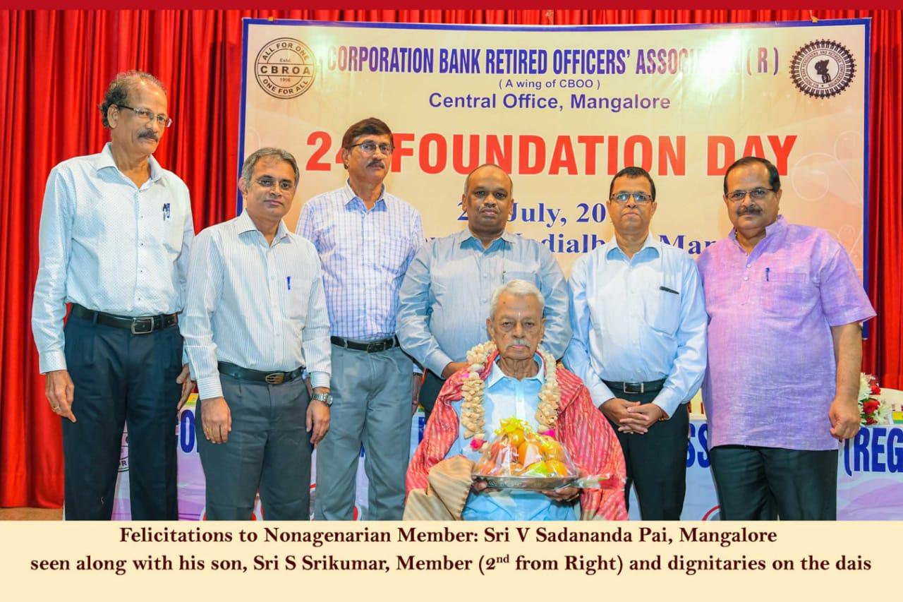 SFELICITATION TO NONAGENARIAN