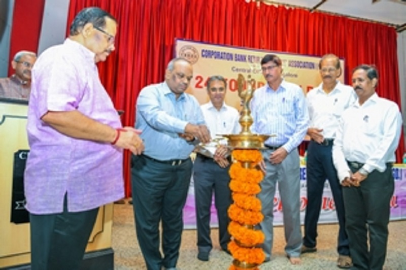 FOUNDATION DAY INAUGURATION- Sri G Guruharinadha Rao, General Manager [HRM] lighting the lamp